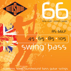 Rotosound RS66LF Stainless Steel Bass Strings 45-105