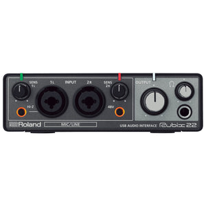 Roland Rubix22 USB Audio Interface 24/192 2x2