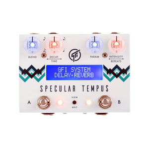 GFI System Specular Tempus Reverb and Delay Effects Processor