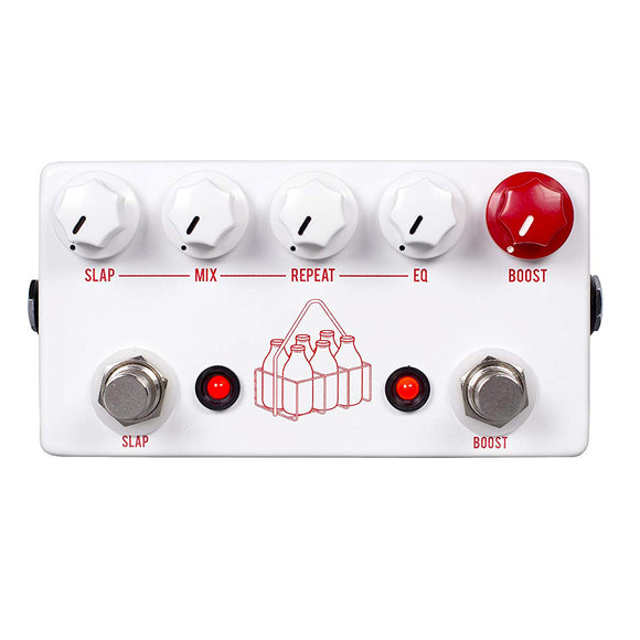 JHS The Milkman Slap Delay and Clean Boost