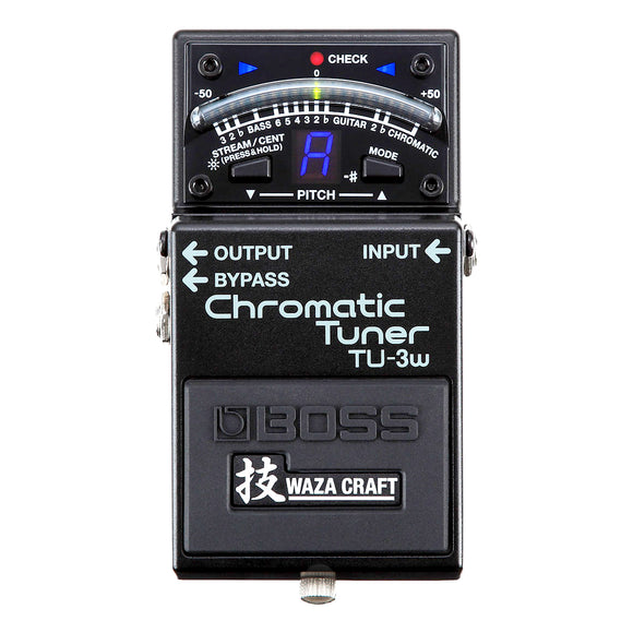 BOSS TU-3W Waza Craft Chromatic Pedalboard Tuner