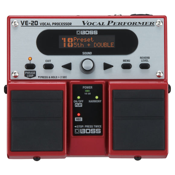 BOSS VE-2- Vocal Performer