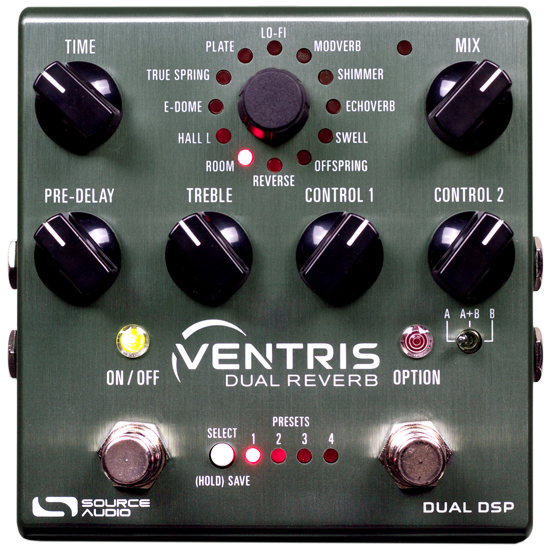 Source Audio SA262 Ventris Dual Reverb