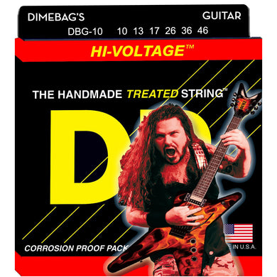 DR DBG-10 Dimebag Darrell Signature Series Electric Guitar Strings 10-46