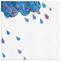 Rain Drops Canvas
