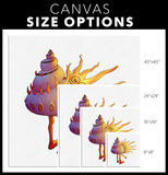 Woodfordia Critters: Shell Canvas
