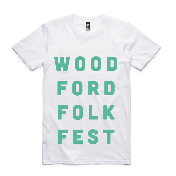 Block Woodford Folk Fest tee