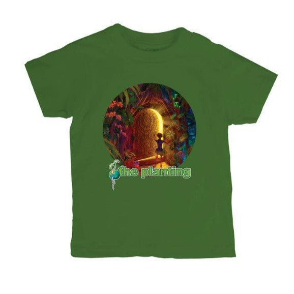 Kids Shirt The Planting 2019 - Green