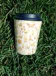 Woodfordia Bamboo Coffee Cup Little Bunya Logos