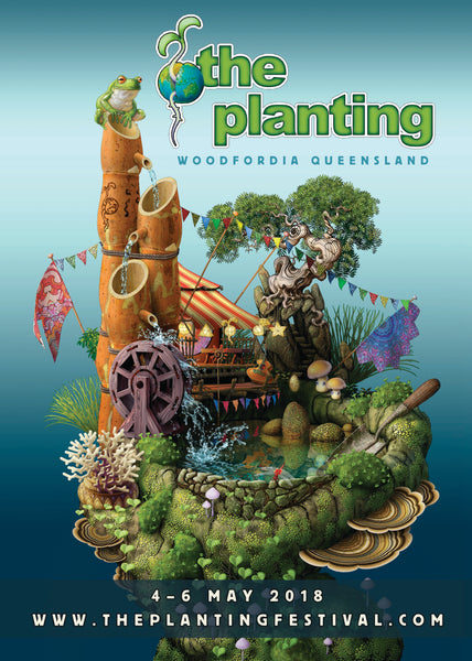 The Planting Festival Poster 2018