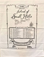 Festival of Small Halls Tea Towel