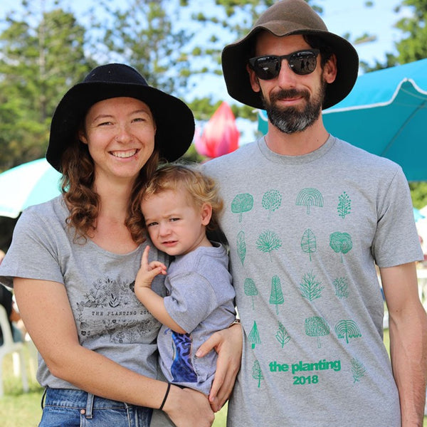 The Planting 2018 T-Shirt (grey/green)