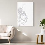 Orion The Seahorse Canvas