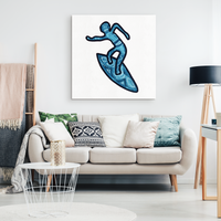 Surfer Canvas