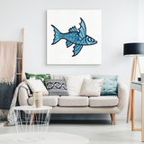 Flying Fish Canvas