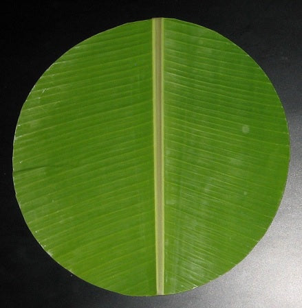 Banana Leaf Round 1 piece