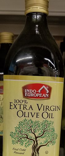 Indo-European Extra Virgin Olive Oil