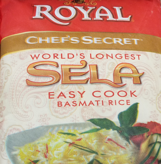 Royal Chef's Secret Sela Basmati Rice 10 lb