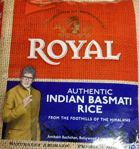 Royal Basmati Rice 20 lb