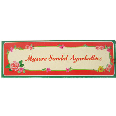 Mysore Sandal Agarbatti Incense 20 sticks