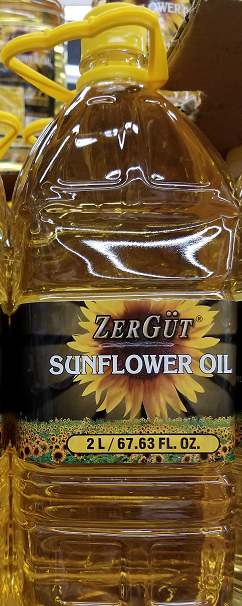 Zergut Sunflower Oil