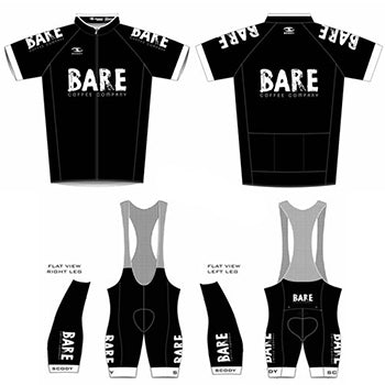 Full Cycling Kit - Jersey & Bib n Brace Set