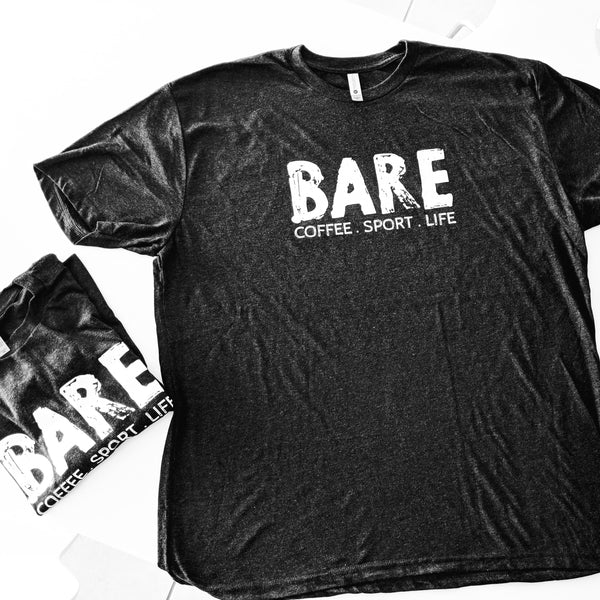 BARE | COFFEE . SPORT . LIFE | T-SHIRT (Australia & USA)