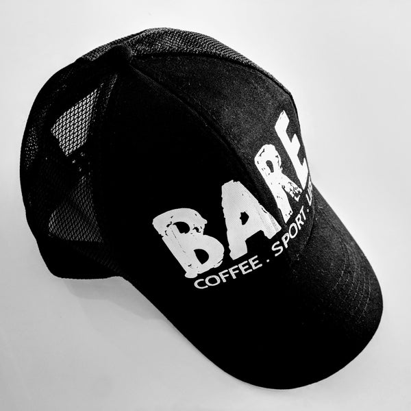 BARE | COFFEE . SPORT . LIFE | CAP (Australia & USA)