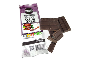Dark Chocolate with Cacoa Nibs 3x80g (240g)