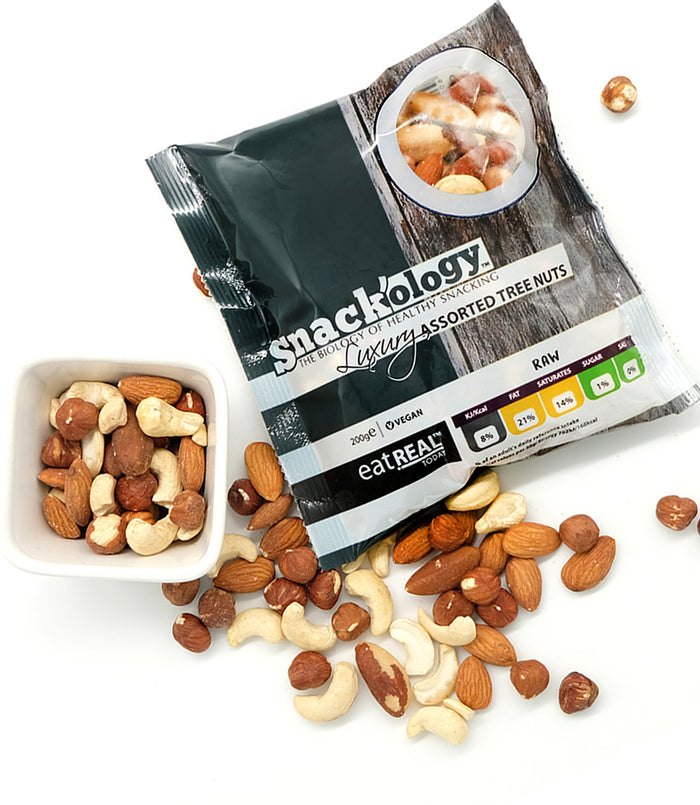 Raw Luxury Assorted Nuts 200g