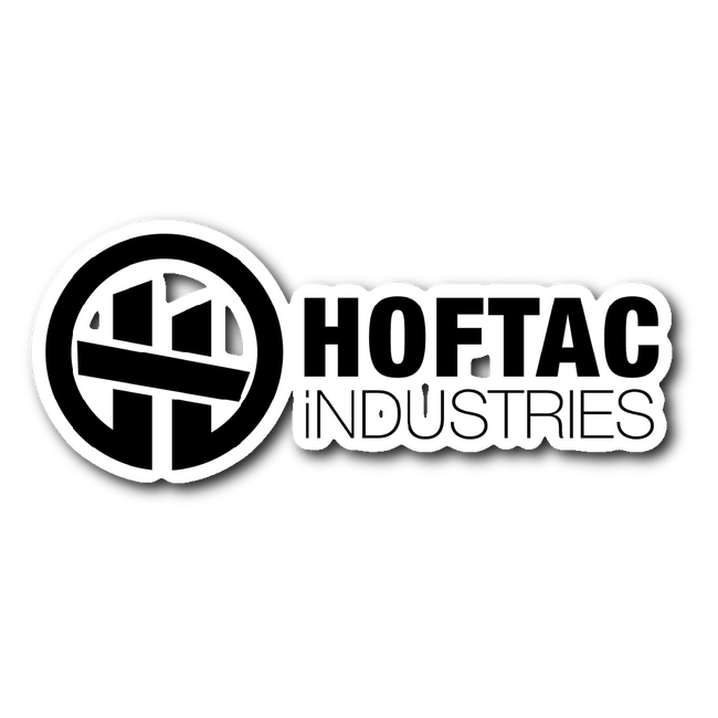 "HOFTAC DECAL 3""x 4"""