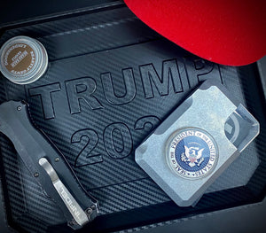 """ TRUMP "" PARTS/CLEANING PatriotTRAY"