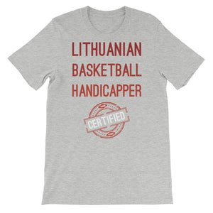 VSiN-Certified Lithuanian Basketball Handicapper t-shirt