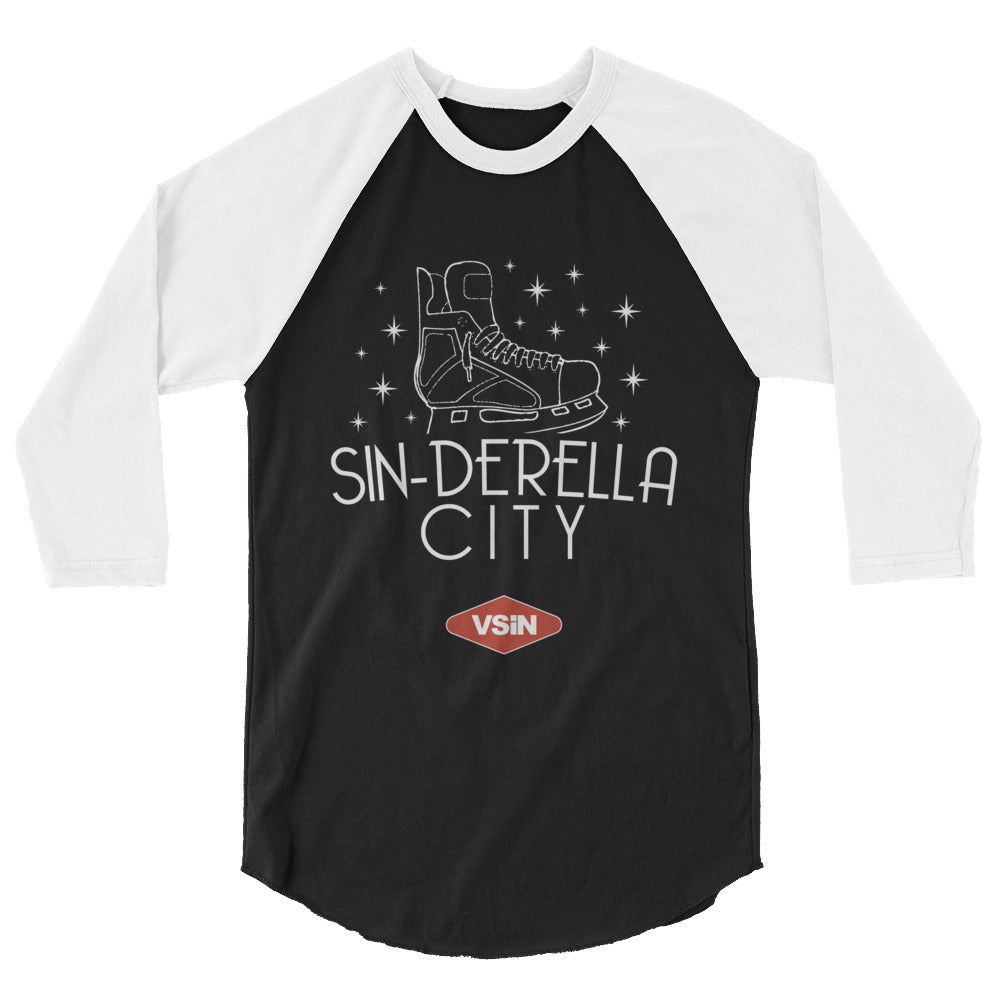 SIN-DERELLA CITY raglan shirt