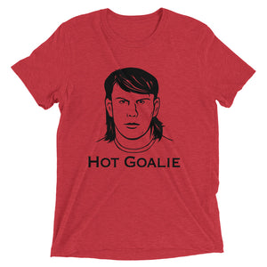 """Hot Goalie"" Pauly Howard t-shirt"