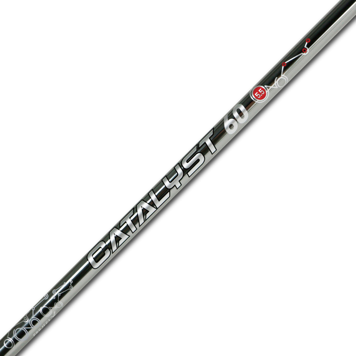 Project X Graphite - Iron - Catalyst PVD Silver - Parallel