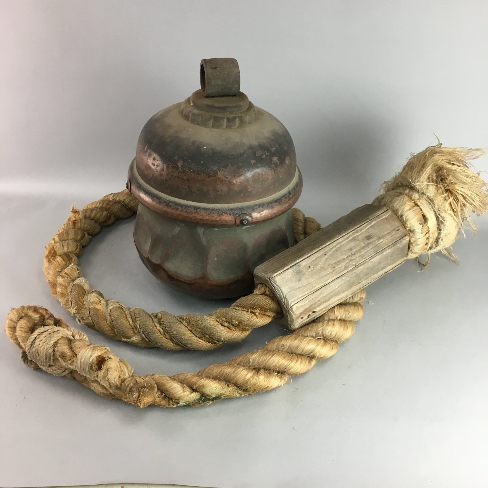 Authentic Japanese Shinto Shrine Bell from Nagoya, Japan