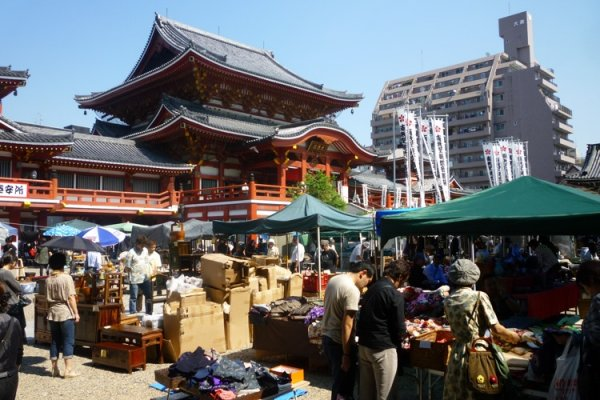 The Osu Antiques Market; A window into old Japan!!