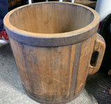 Japanese Antique Rice Bucket