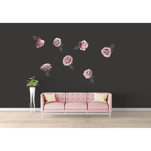 Sofia Florals medium - wall decals IN STOCK