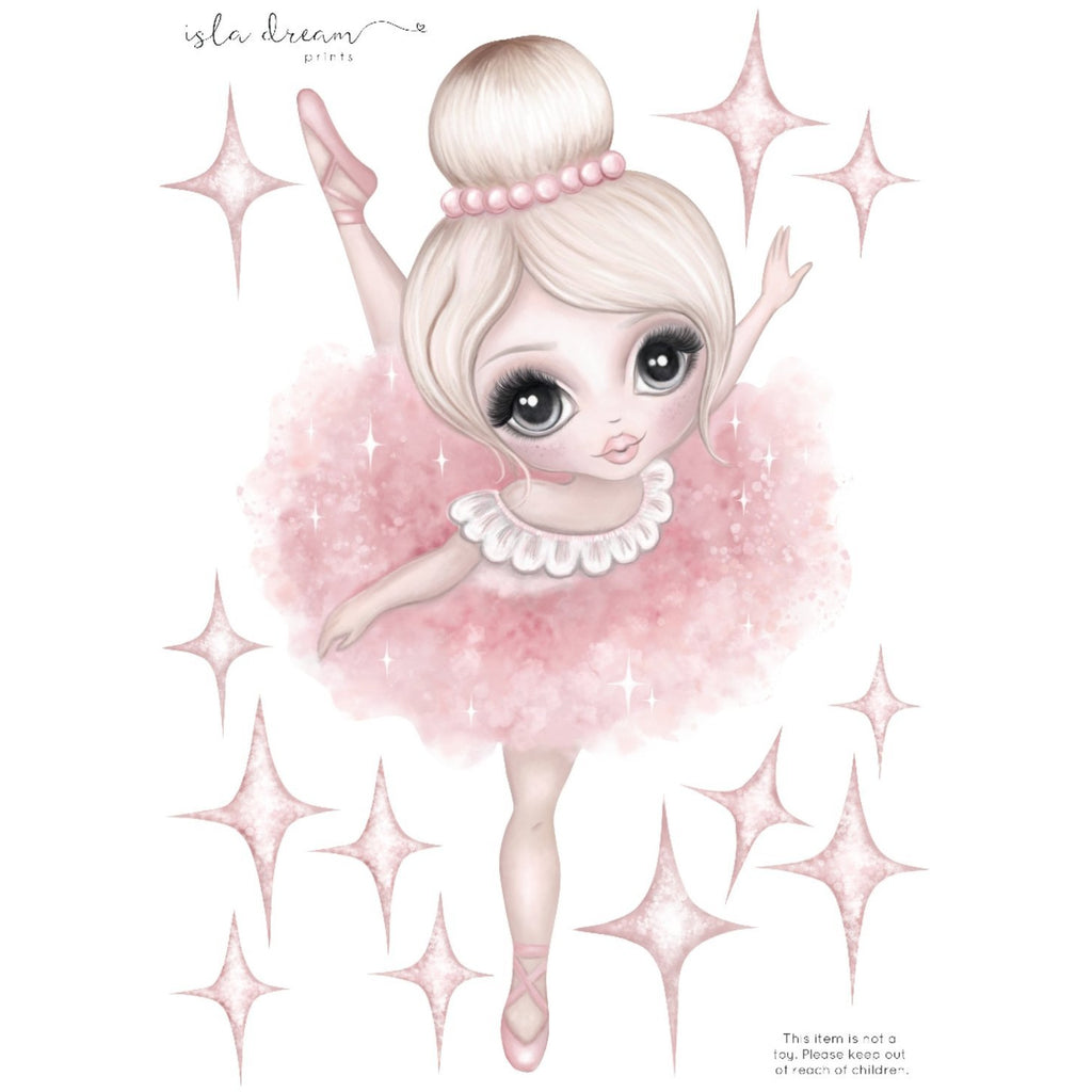 Bella the Ballerina - Wall decals