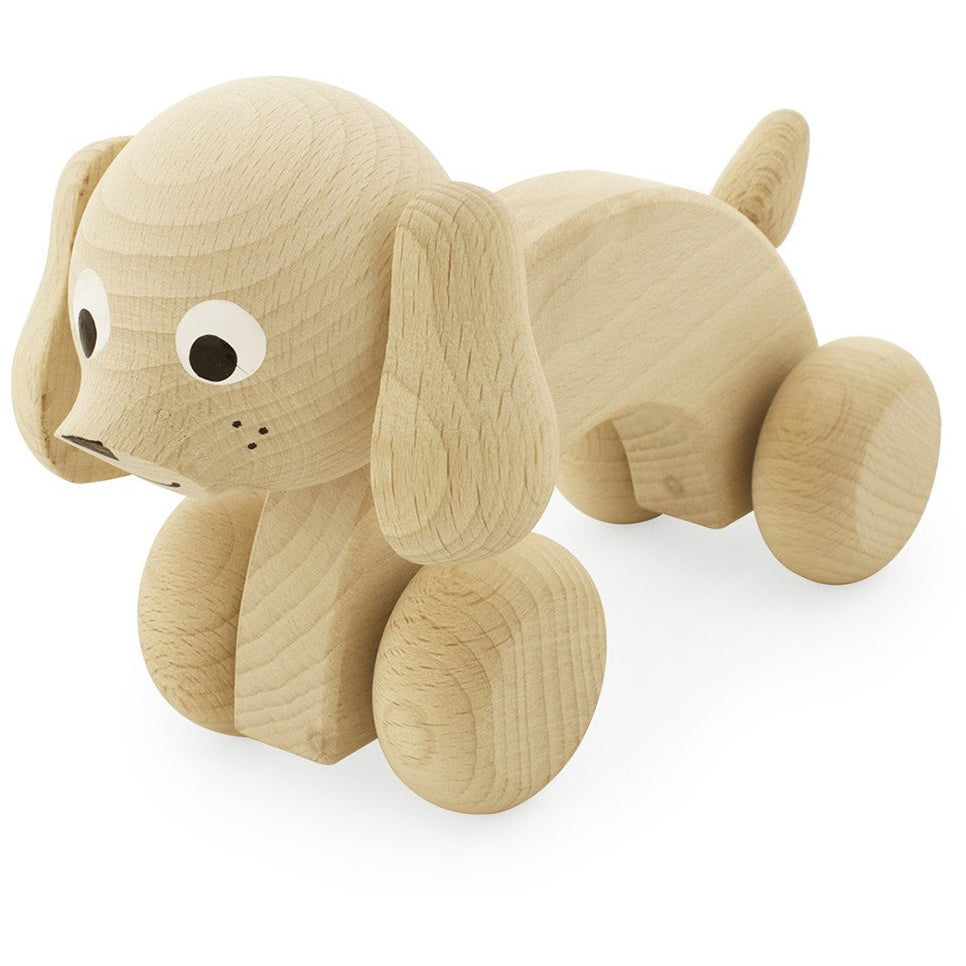 Harley - Wooden push along dog