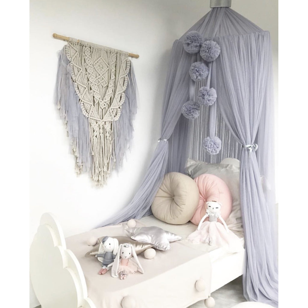 Dreamy Macrame - Light Grey
