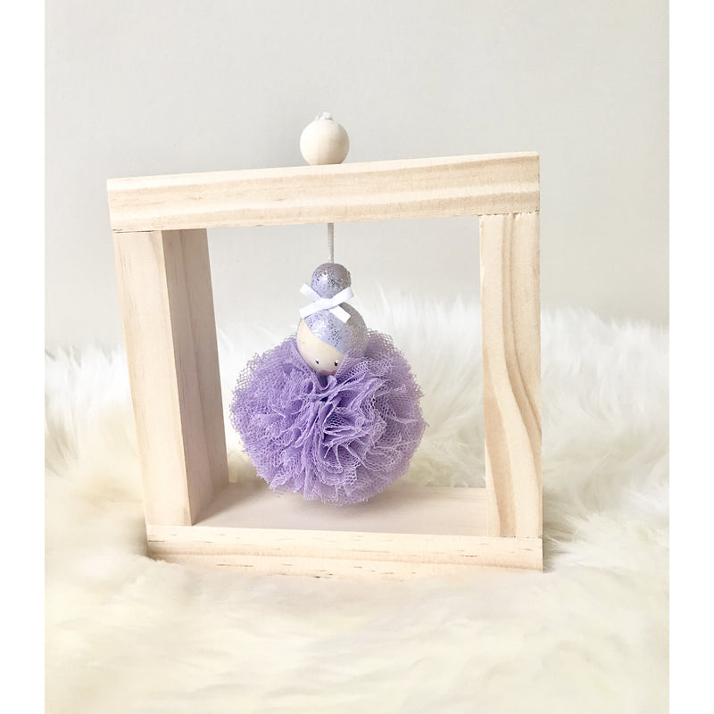 Framed Ballerina - Single Purple