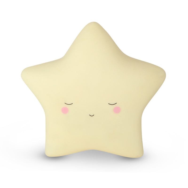 Star little wall tap light yellow - small