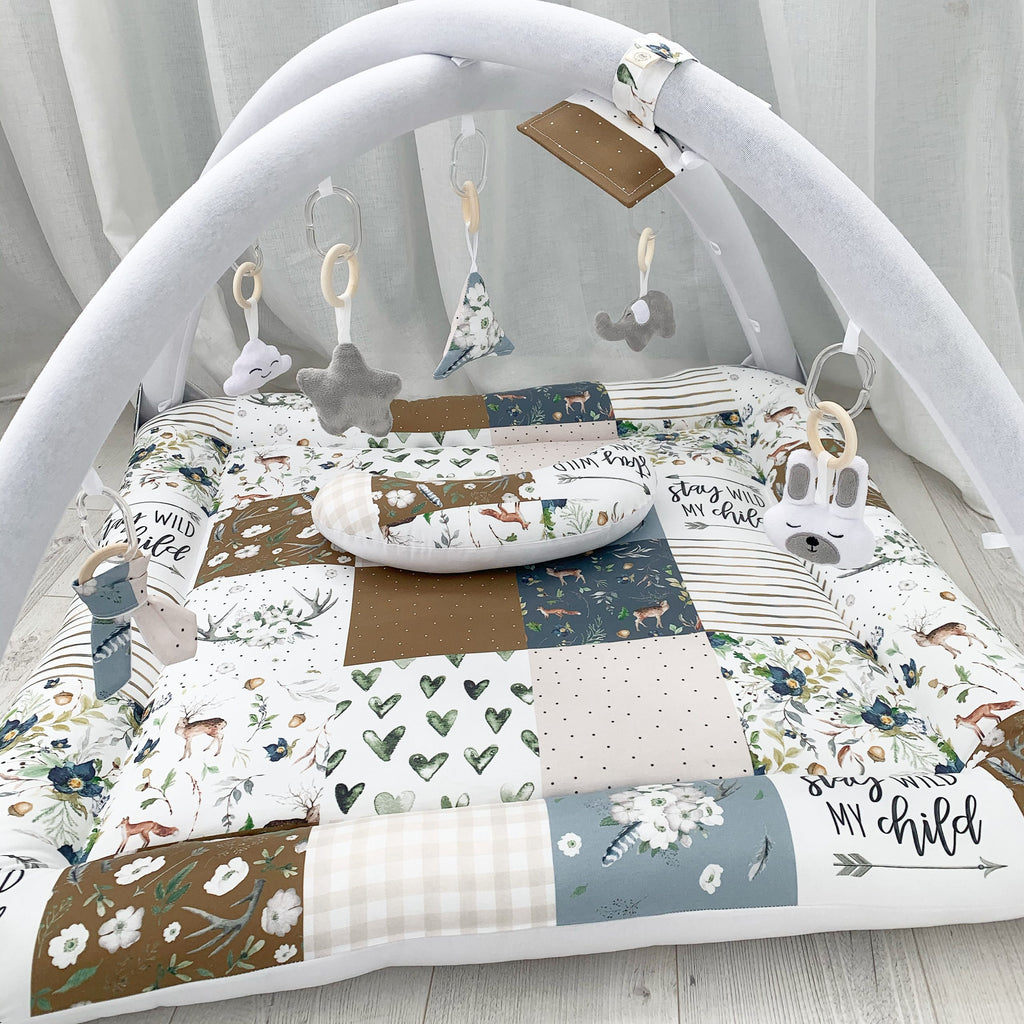 Activity playmat - stay wild my child