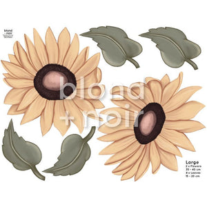 Milla's Sunflowers Large - wall decals