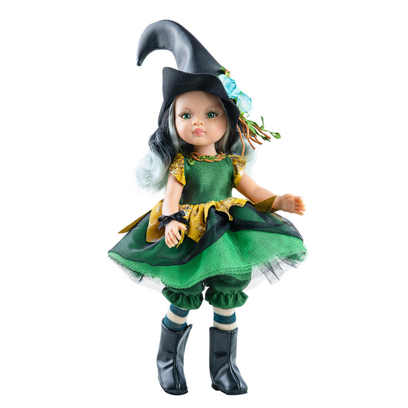Paola Reina dolls - Abigail witch, 32 cms