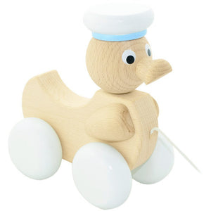 Wooden pull along duck - Austin