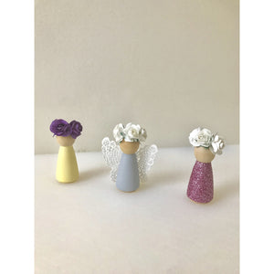 Wooden peg dolls - Set of 3